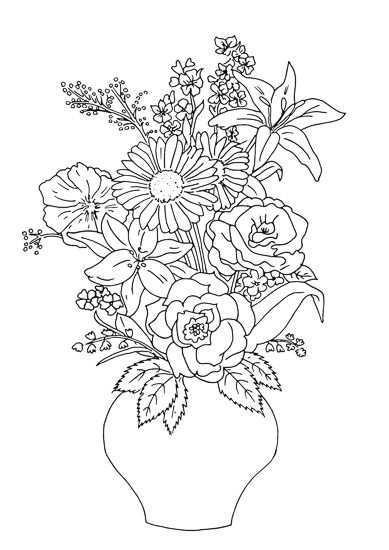 Afbeeldingsresultaat Voor Kleurplaten Voor Dementerende Ouderen Embroidery Flowers Pattern Embroidery Flowers Asian Art
