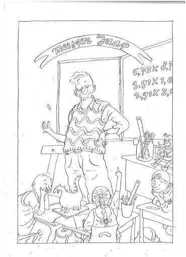 Meester Jaap Kinderboeken Kleurplaten