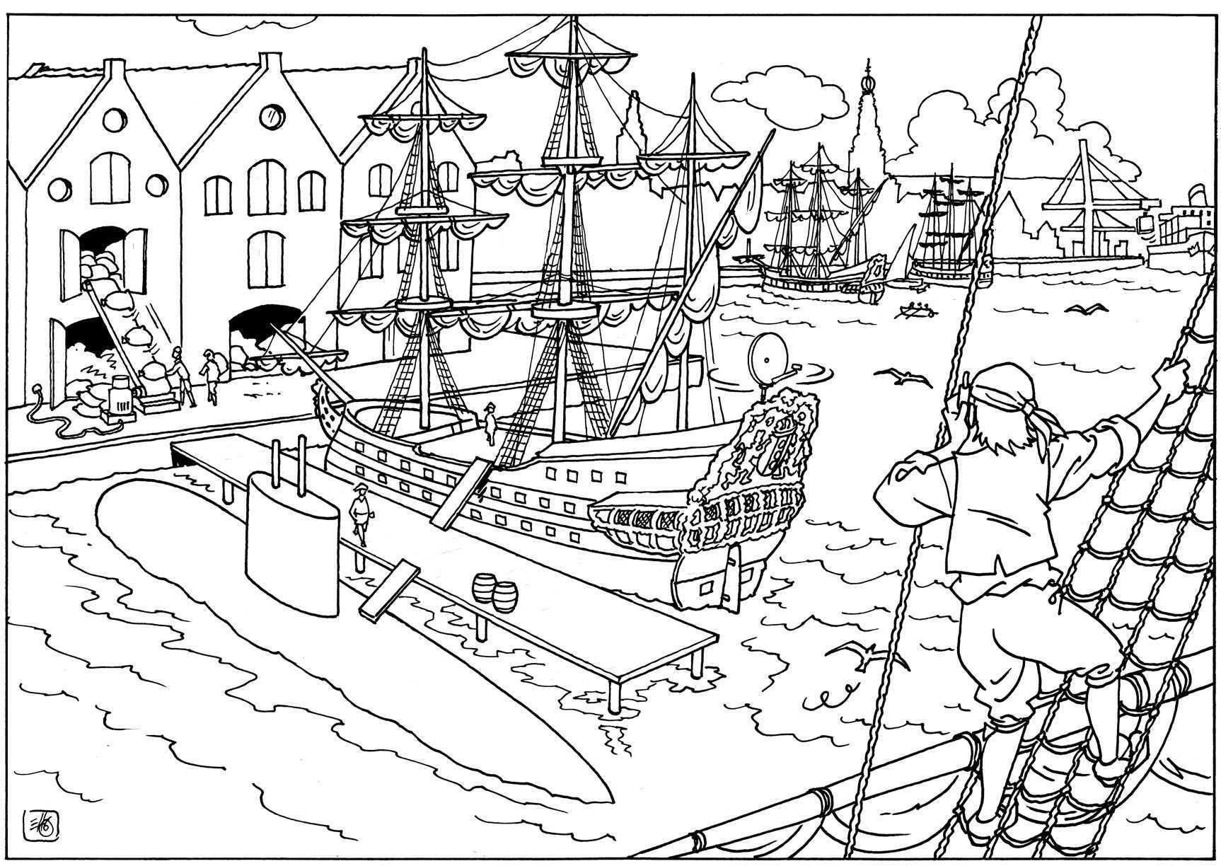 Gouden Eeuw Gouden Eeuw Educatieve Illustraties Geschiedenis
