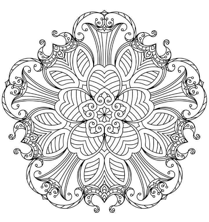 Pin Van Florencia Chientaroli Op Mandala Geometrisch