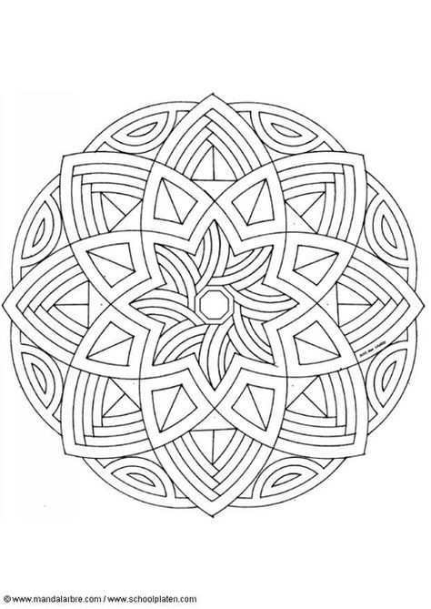 Kleurplaat Mandala 1602l Mandala Kleurplaten Abstracte Kleurplaten Kleurplaten