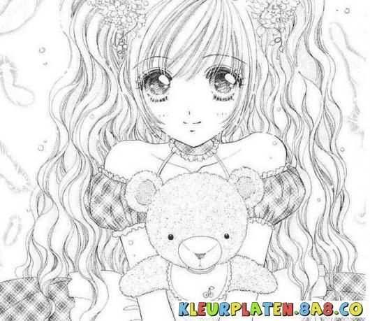 Manga Meisjes Kleurplaten Kleurplaten Anime Manga Meisje Kleurplaten Anime Kleurplaten En Manga Meisje Gratis Kleurplaten Kleurplaten