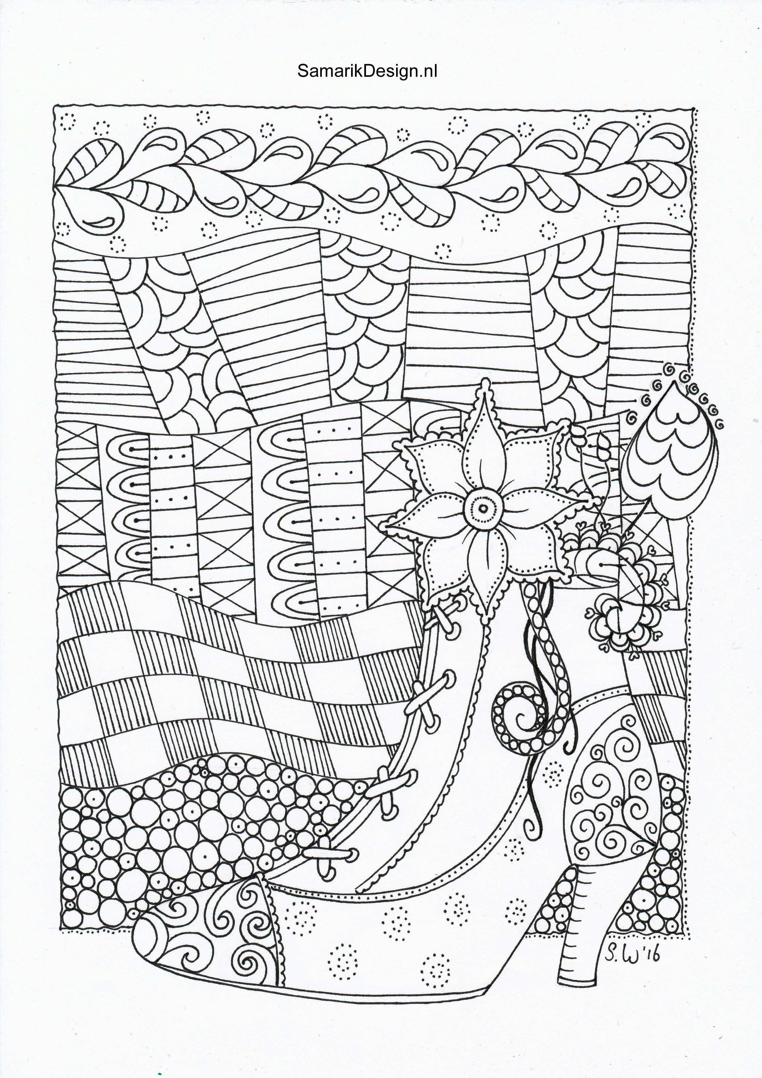 Kleurplaat Voor Volwassenen Doodle Kleurplaten Kleurboek Kleurplaten Voor Volwassenen
