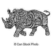 Afbeeldingsresultaat Voor Zentangle Neushoorn Zentangle Dieren Eekhoorn