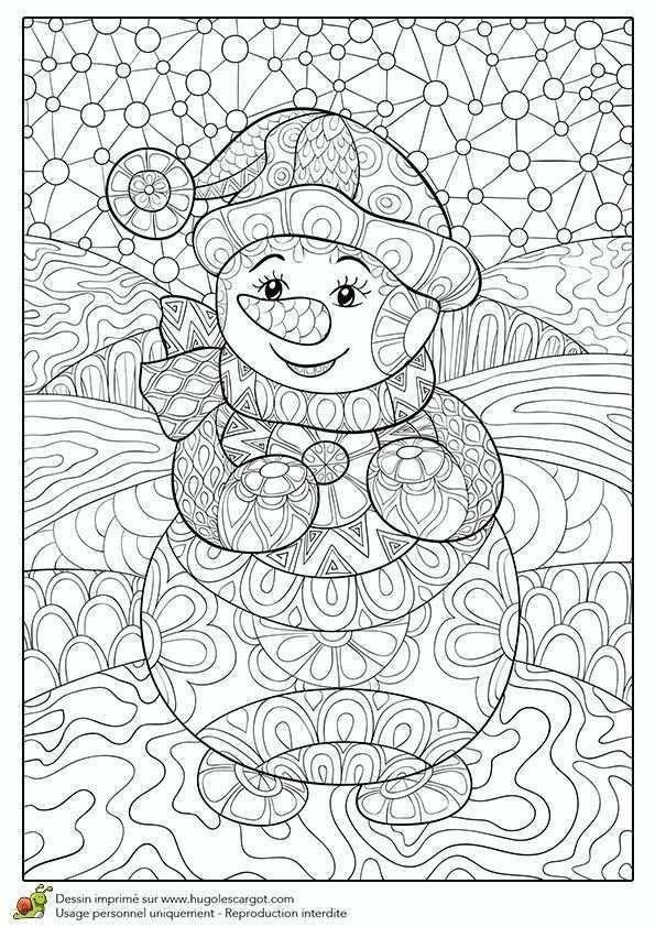 Art Ed Central Loves To Color Snowmen Winterknutsels Kerstkleurplaten Mandala Kleurplaten
