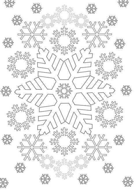 Kleuren Voor Volwassenen Winter Kerstkleurplaten Gratis Kleurplaten Kleurplaten