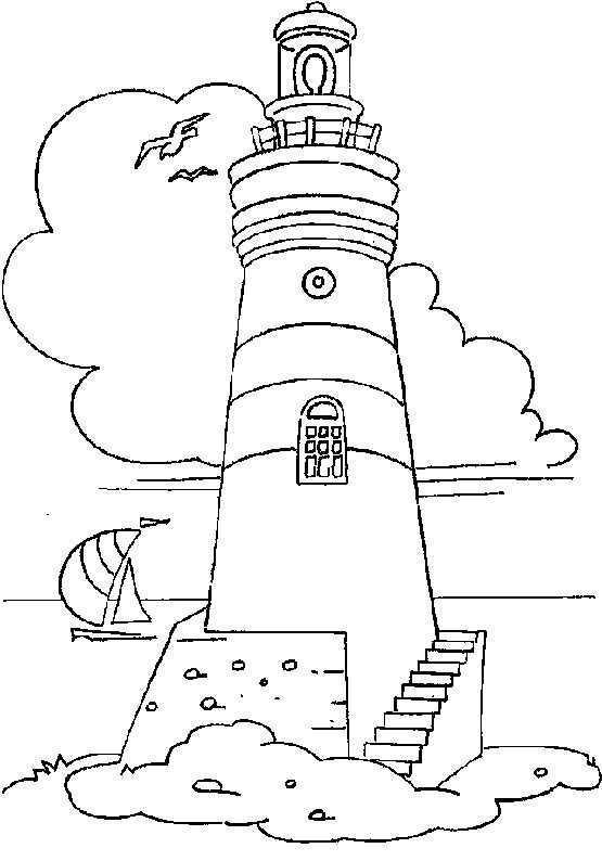 Miscellaneous Sea Headlights Print Picture Desenhos Pintura Em Telhas Riscos Para Pintura