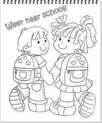 Afbeeldingsresultaat Voor Kleurplaten Welkom Op School Welkom Terug Op School Kleurpl