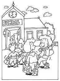Kleurplaat School Welkom Terug Op School Gratis Kleurplaten School Begint