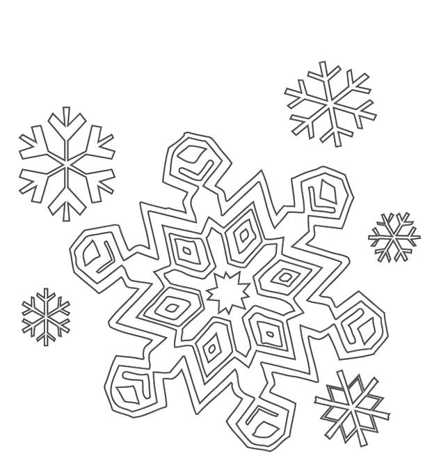 Winter Kleurplaten Winter Seizoenen