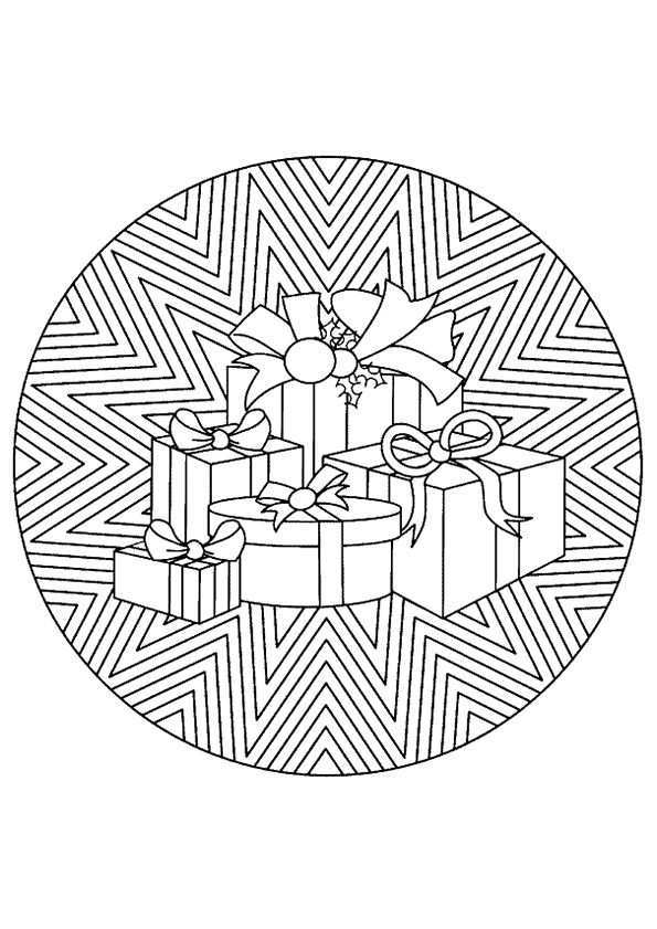 Kleurplaat Mandala Kleurplaten 5237 Kleurplaten Mandala Kleurplaten Kerstmis Kleuren Mandala
