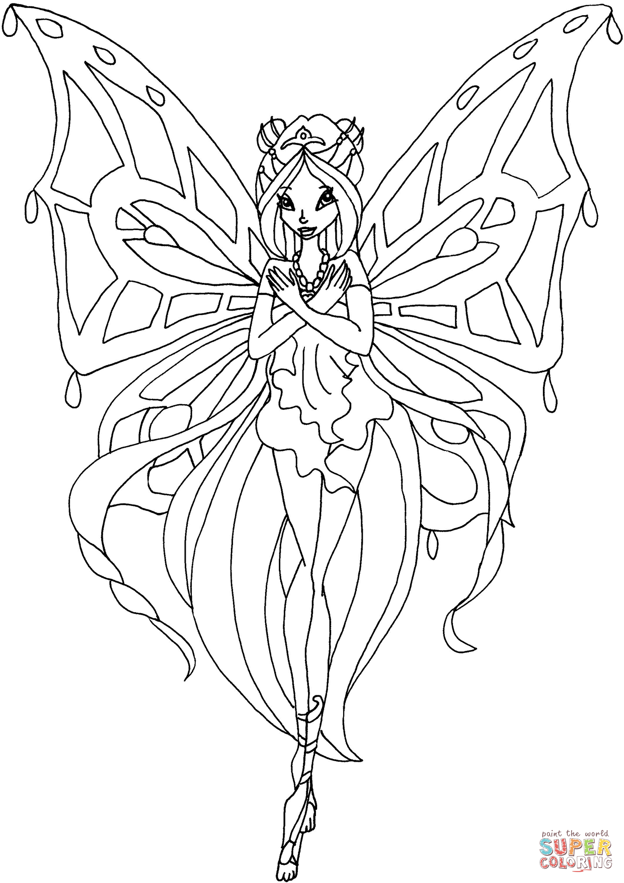 Coloring Enchantix Flora Coloring Page Free Printable Pages With Film Winx Club Coloring Pages Sirenix Books Click The Enchantix Flora Color Disegni Free Flora