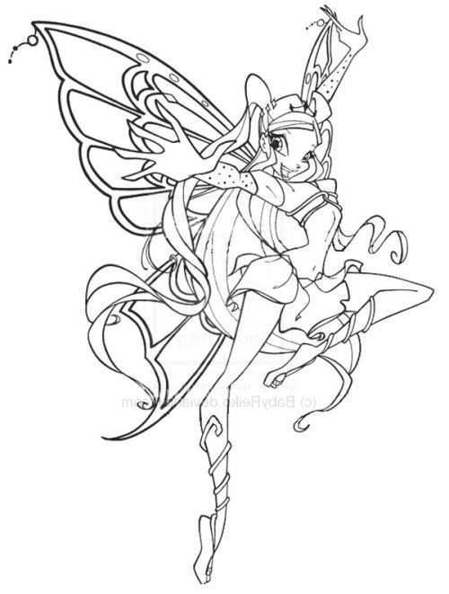 Winx Club Bloom Believix Coloring Pages Super Coloring Pages Winx Club Club Color