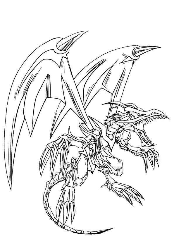 Kleurplaat Draken 7534 Kleurplaten Dragon Coloring Page Monster Coloring Pages Yugioh Monsters
