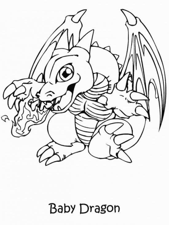 Printable Yugioh Coloring Pages Dragon Coloring Page Cute Dragon Drawing Baby Dragons Drawing