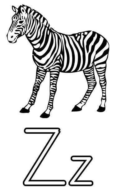 Zebra Coloring Page Printable Worksheets For Kids Kleurplaten Zebra Tekening Zebra S