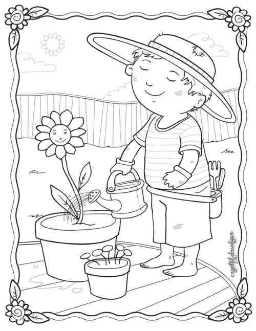 Pin Van Jy Op Thema Tuincentrum Kleuters Theme Garden Center Preschool Garden Center Maternelle Kleurplaten Lentebloemen Thema