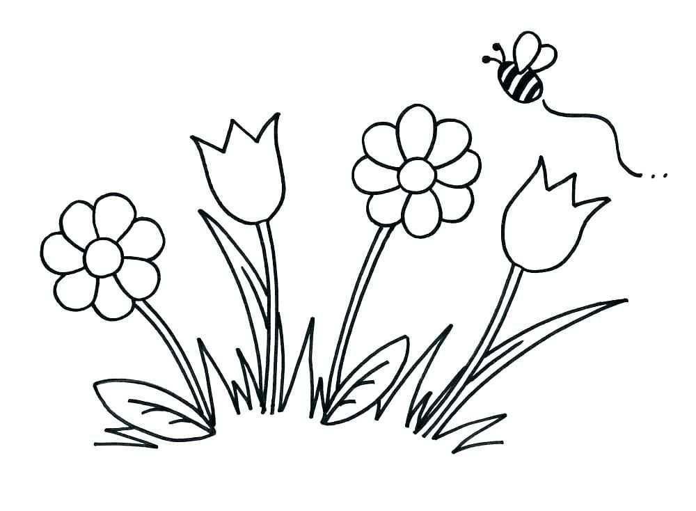 Draw Simple Flower Tekenen
