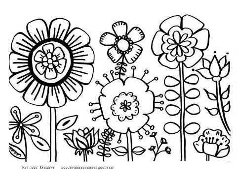 Brazilian Flowers Coloring Pages Coloring Pages Zomer Kleurplaten Boek Bladzijden Kleuren Gratis Kleurplaten