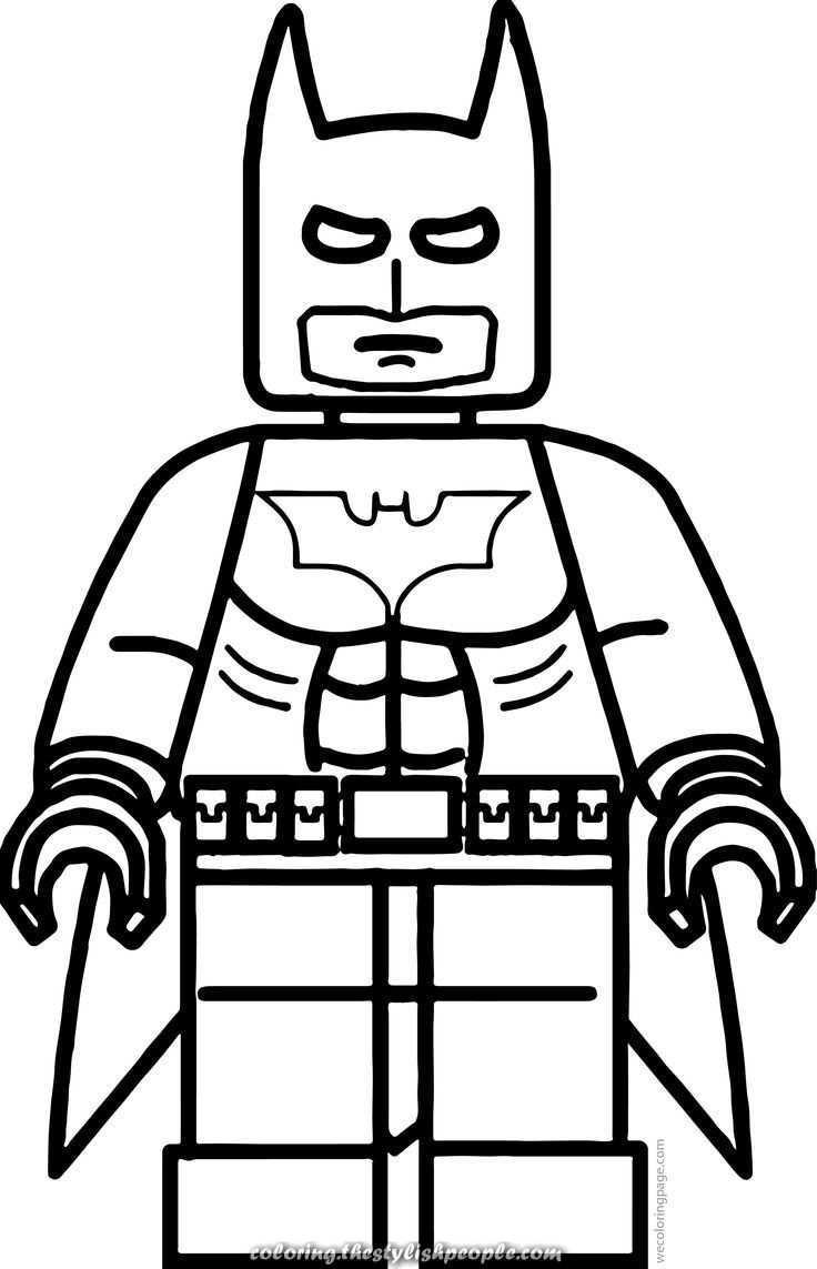 Lego Batman Coloring Exercise For Teenagers In 2020 Lego Kleurplaten Kleurplaten Lego