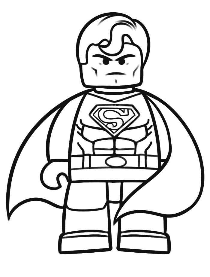 Superman Lego Coloring Pages Lego Movie Coloring Pages Batman Coloring Pages Superhero Coloring Pages