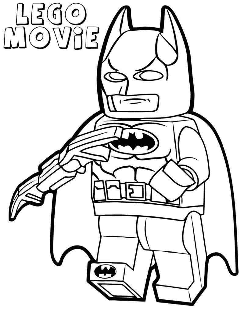 Print Lego Batman Movie Coloring Pages Lego Batman Batman Halaman Mewarnai