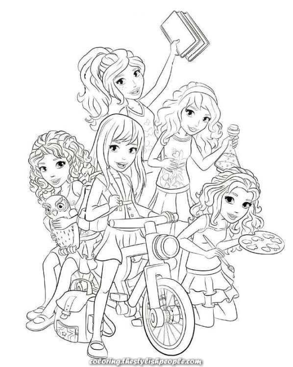 The Best Mates Lego Lego Mates On Youngsters N Enjoyable Nl Coloring Web Page At Youngsters Lego Kleurplaten Kleurplaten Lego Friends