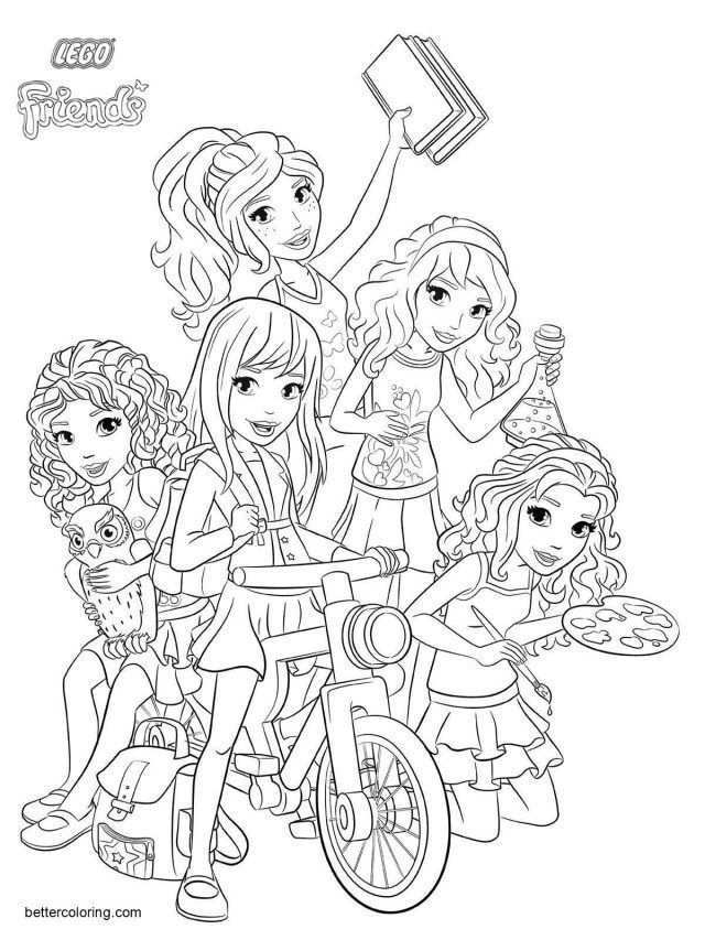 25 Brilliant Image Of Lego Friends Coloring Pages Lego Friends Coloring Pages Characters From Lego Friends Coloring Pages Maleboger Bornekreativitet Broderi