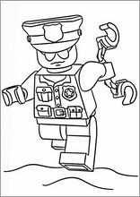 Tekeningen Printen Lego Police9 Lego Kleurplaten Tekenen Voor Kinderen Kinderkleurplaten