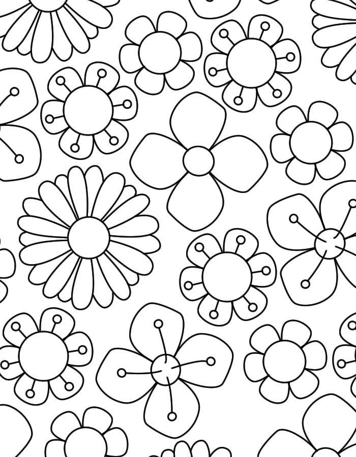 Bos Lente Bloemen Kleurenisleuk Nl Bloem Kleurplaten Bloemen Tekenen Bloemen Kleurplaten