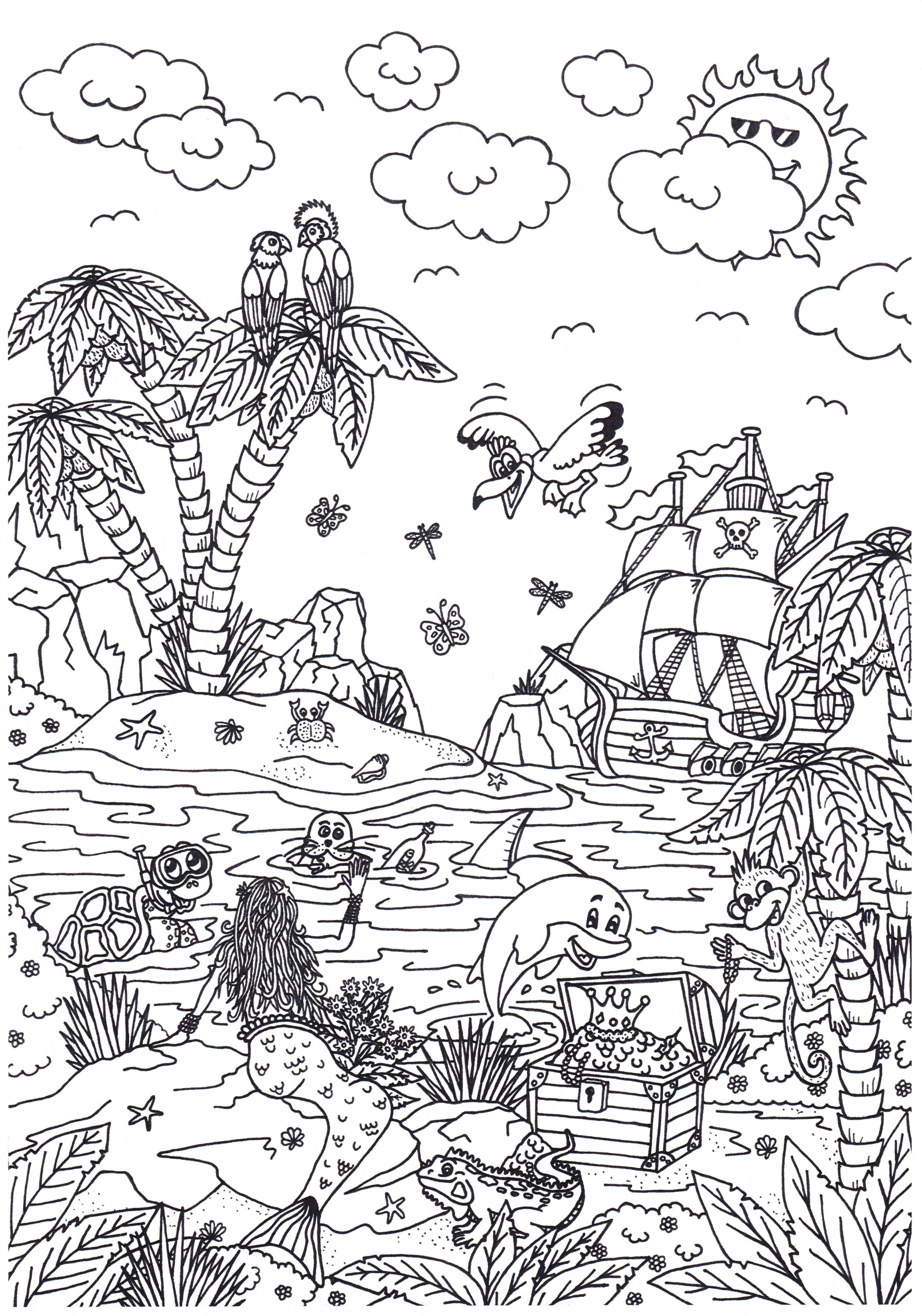 Leuke Kleurplaten In Het Vakantie Thema Van Suzanne Amels Kleurplaat Vakantie Kleurpl