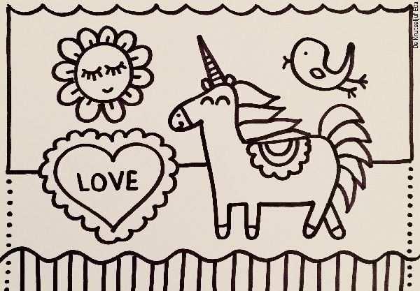 Eenhoorn Kleurplaat 5x Kleurplaat Kleurplaten Tekeningen Kids Meisjes Unicorns Eenhoorns Gratis Te Printen Kleure Kleurplaten Eenhoorn Gratis Kleurplaten