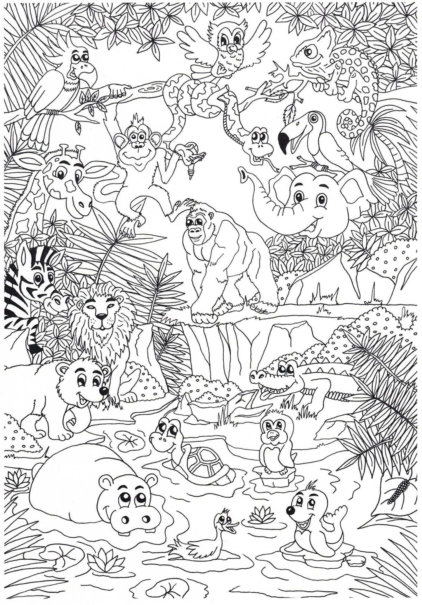 Coloring Page Dieren Kleurplaten Gratis Kleurplaten Kleurplaten