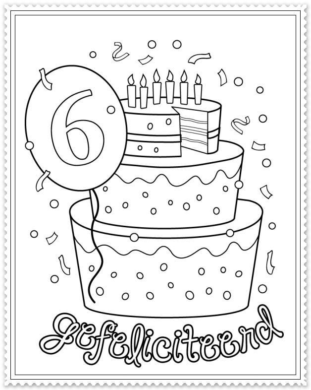 Hoera 6 Jaar Verjaardag Verjaardagsideeen Verjaardagskalender