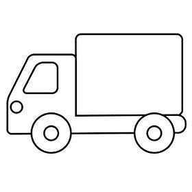 Prent Camion Kleurplaten Voor Kinderen Vervoer Thema Vervoer