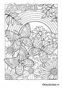 Kleuteridee Ben Horsthuis Kleurplaten Mandala Kleurplaten Bloemen Kleurplaten