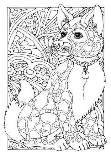 Kleurplaat Hond Afb 18700 Mandala Kleurplaten Dieren Kleurplaten Kleurplaten