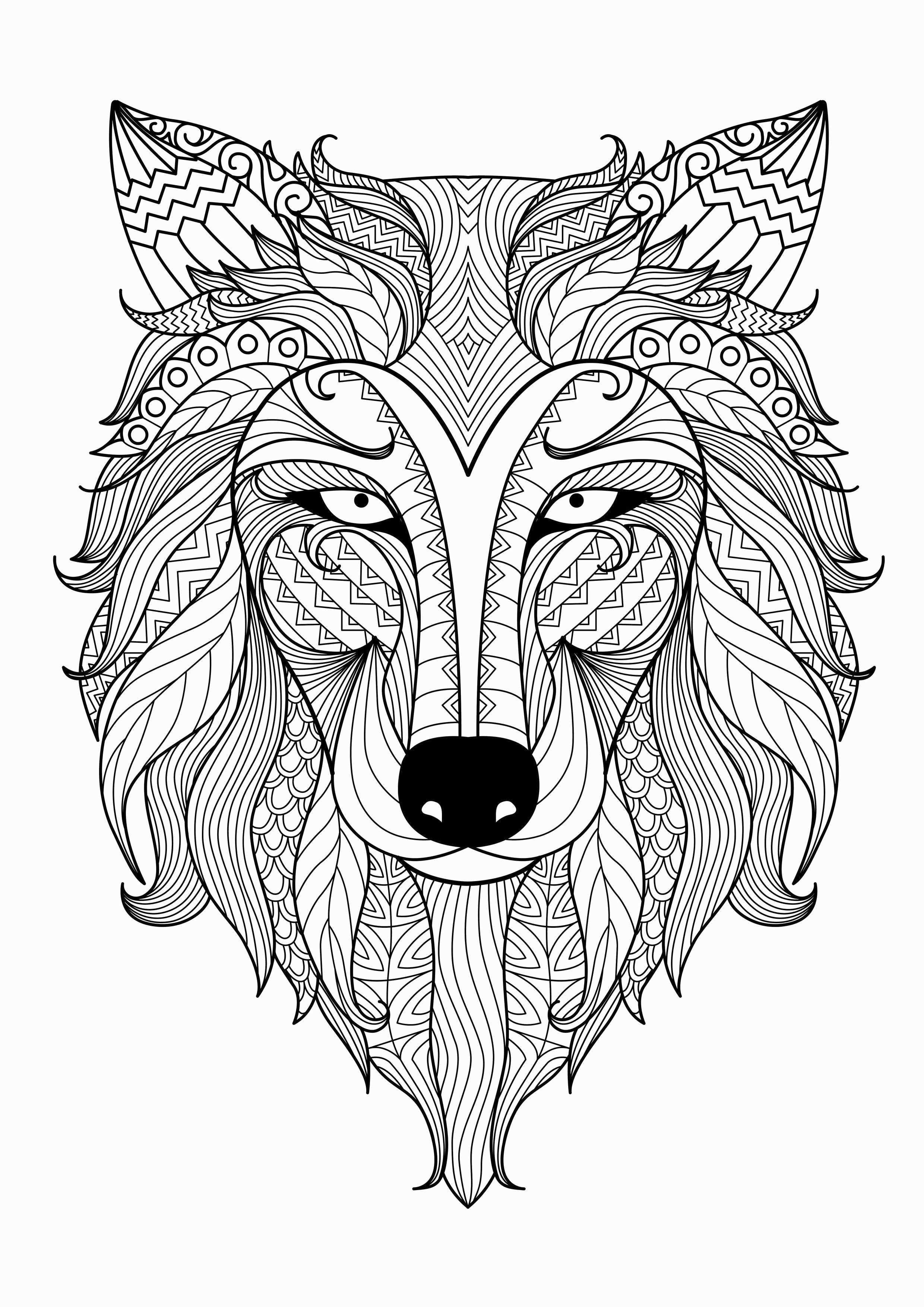Coloring Pages Of A Tiger Luxury Printable Lion Coloring Pages Mandala Kleurplaten Kleurplaten Dieren Kleurplaten