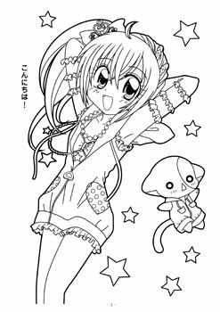 Pin On Anime Coloring Pages