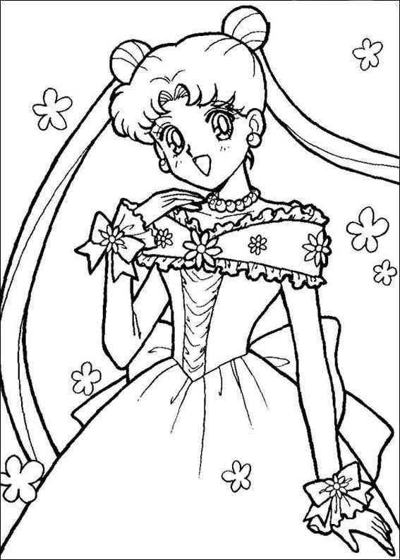Sailor Moon Kleurplaten 8 Kleurplaten Voor Kinderen Prinses Kleurplaatjes Kleurboek