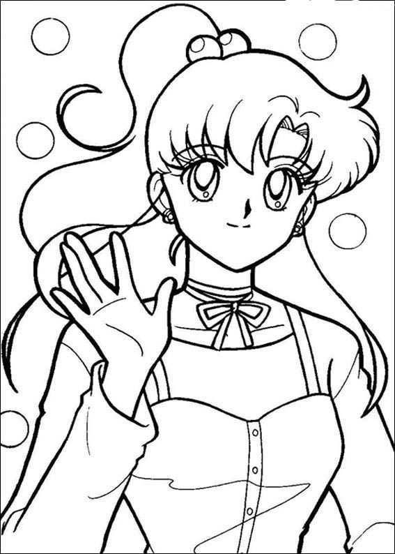 Sailor Moon Kleurplaten 7 Kleurplaten Voor Kinderen Kleurboek Zomer Kleurplaten