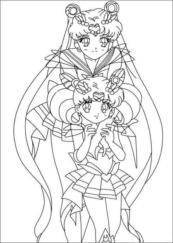 Sailor Moon Kleurplaten 1 Kleurplaten Voor Kinderen Kleurplaten Sailor Moon