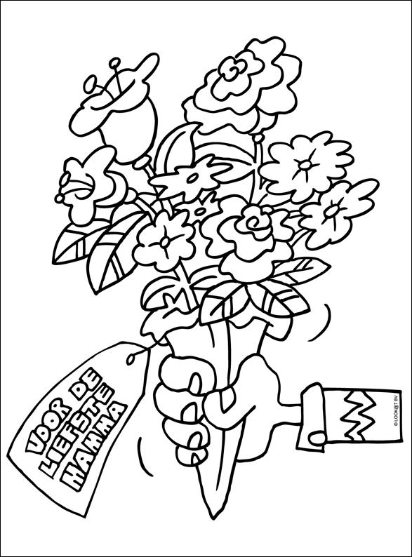 Bloemen Voor Moeder Moederdag Vaderdag Moederdag Knutselen