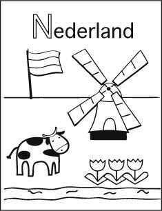 Www Anderekleurplaten Nl Alfabet Kleurplaten Nederland Doodle Ideeen Kleurplaten