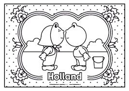 Kleurplaat Klederdracht Google Zoeken Holland Nederland Kleurplaten