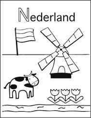 Kleurplaat Nederland Doodle Ideeen Kleurplaten