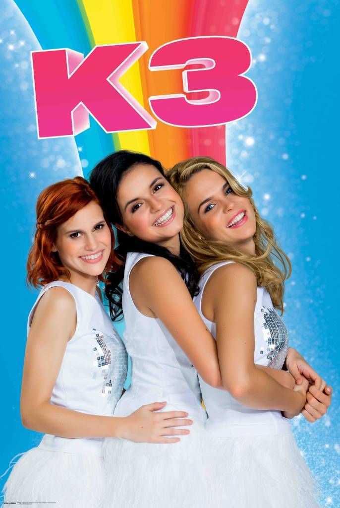 De Nieuwe K3 Regenboog Poster Beroemdheden Poster Meisjes