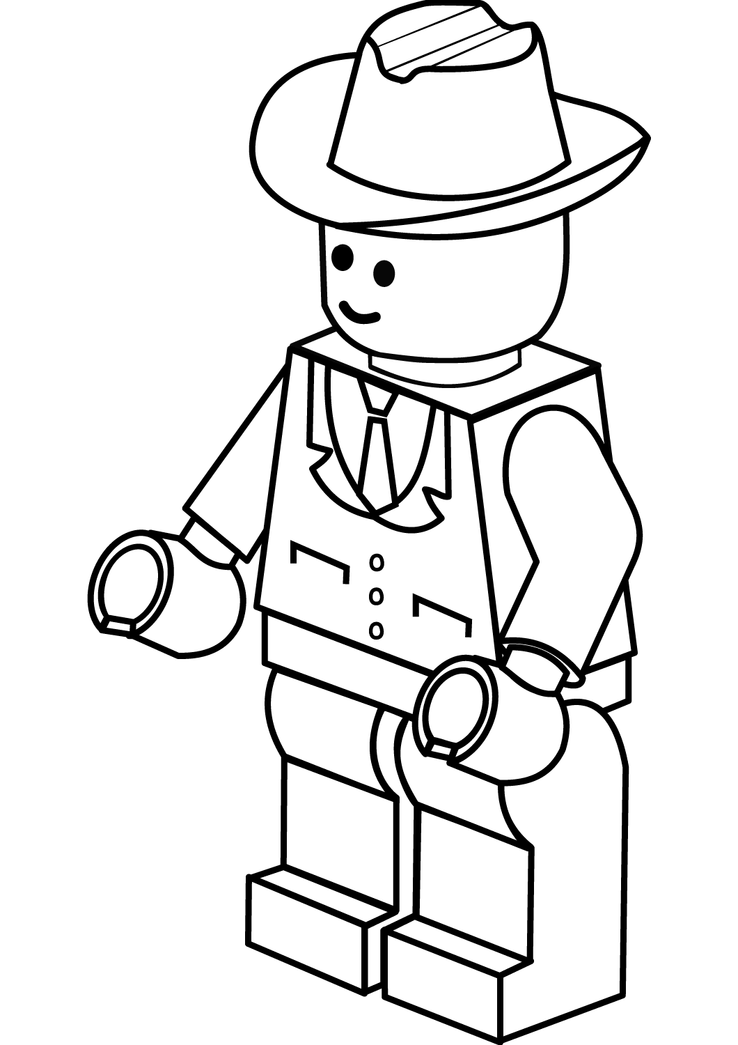 Lego Man Coloring Pages Free Lego Coloring Pages Lego Coloring Lego Coloring Sheet