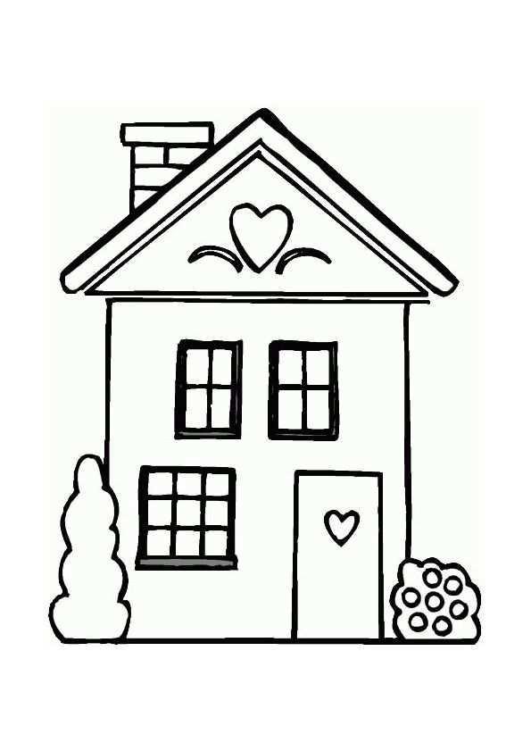 Thuis Hoe Is Het Met Jou Vergeet Ik Helemaal Te Vragen Kind Tekening Kleurplaten Huis Quilts