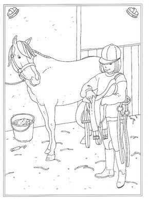 24 Kleurplaten Van Op De Manege Op Kids N Fun Nl Op Kids N Fun Vind Je Altijd De Leukste Kleurplaten Het Eerst Kleurplaten Paarden Drawing